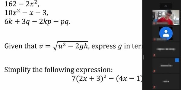 AKLC S2 Maths Mastery